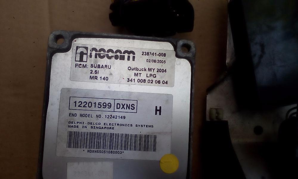 SUBARU OUTBACK(LEGASY)NECAM компютър със релета за газова система