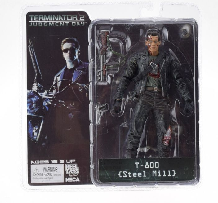 Figurina Terminator Arnold Schwarzenegger T-800 18 cm NECA