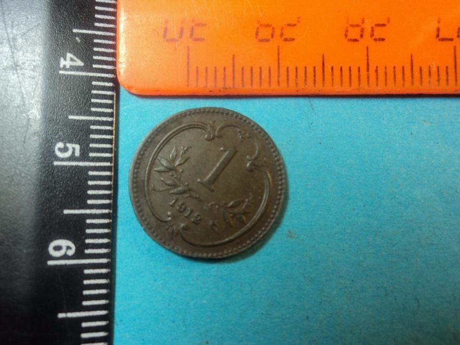 Монета -1 австрийский геллер 1912г.(Ancient coin)