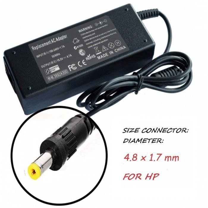 Зарядно за лаптоп 220V-70W/18.5V 4.8mm X 1.7mm. Модел YDS70. За HP