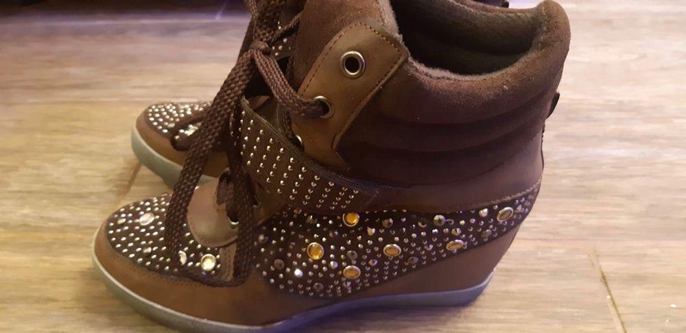 Adidasi cu platforma/ sneakers