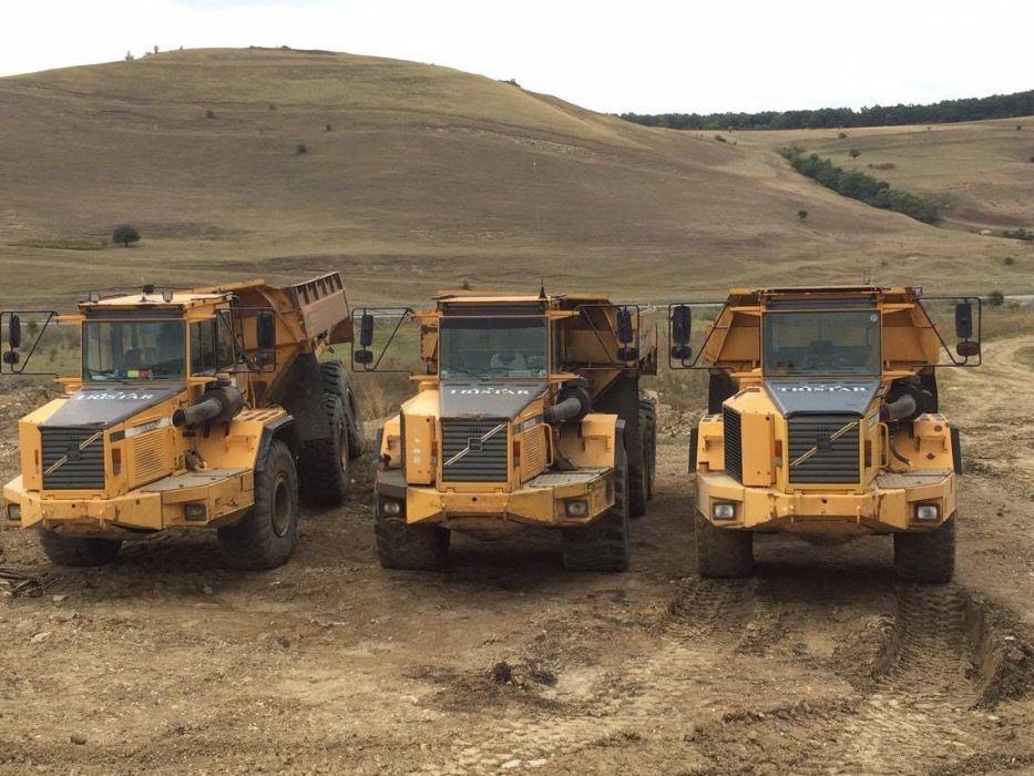 Utilaje Dumper e excavatoare inchiriere inchiriez