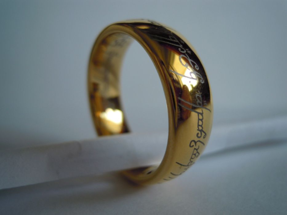 Inel Femei din Tungsten Lord of the Rings, The one ring