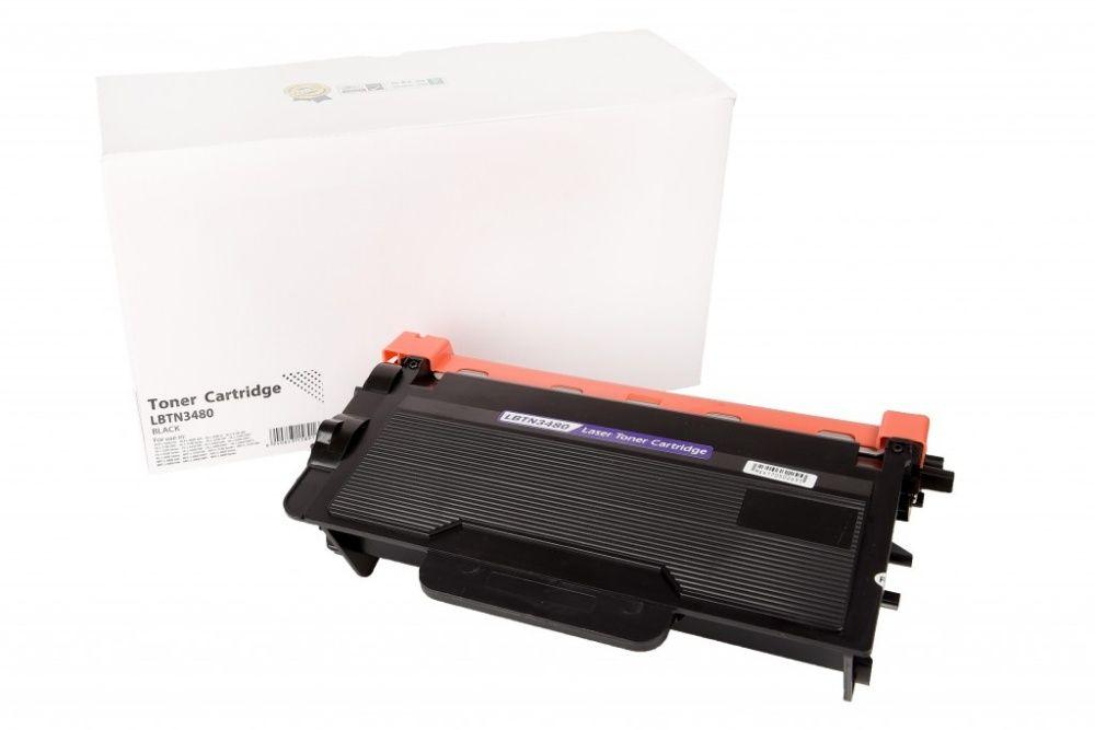 Чисто нови съвместими тонер касети Brother TN-3480 / TN3480