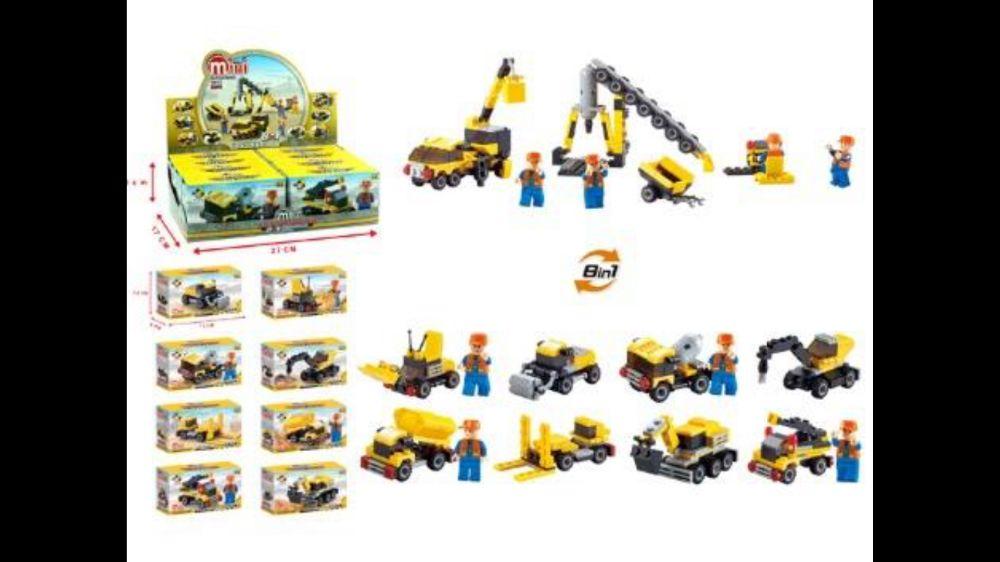 Jucarie cu piese tip Lego 8 in 1