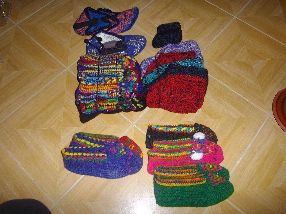 Терлици /шити , плетени /,Вълнени шушони и чорапи