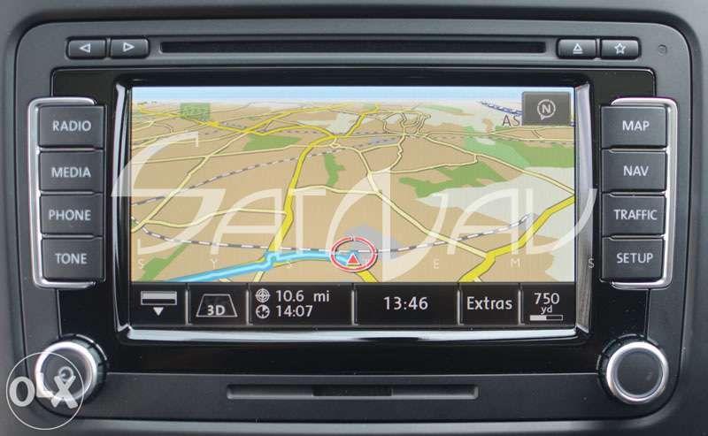 Harti navigatie Volkswagen VW, Seat, Skoda RNS 310 VDO 510 810