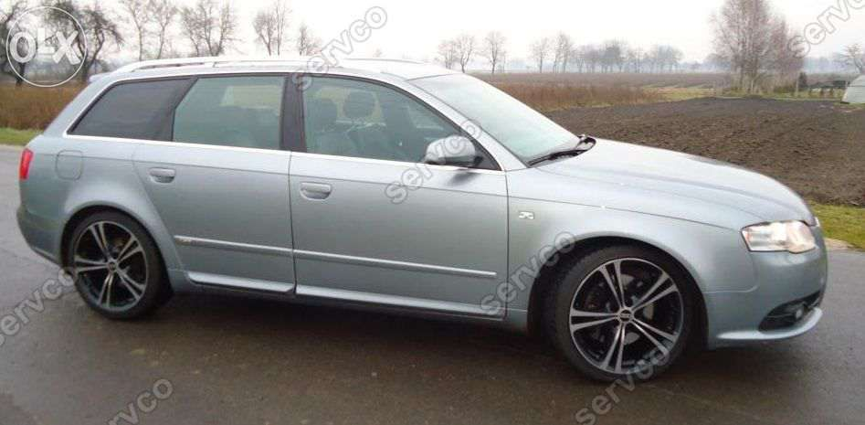 bandou Bandouri laterale portiera portiere usa usi Audi A4 B6 B7 sline