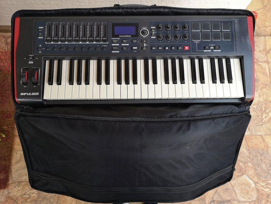 Vendo Midi keyboard impulse 49 de teclas e com pasta para transportar