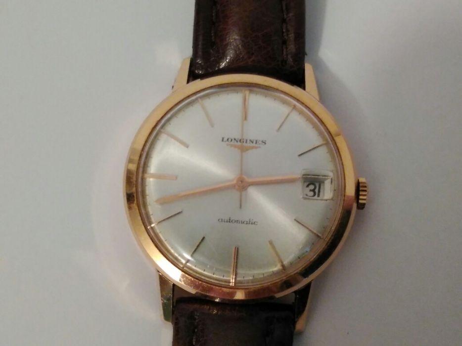 Ceas LONGINES Automatic cu dată din aur de 18K