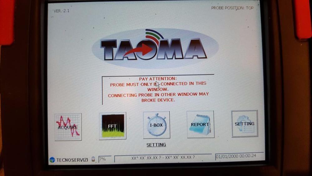 TECNOSERVIZI TAOMA TS / 001 / UB Analizor de câmp magnetic / electric Suceava - imagine 2