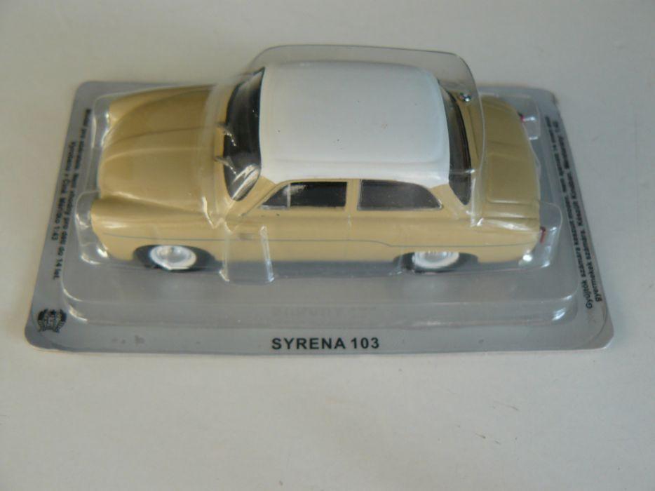 """Macheta Auto De Colectie """"SYRENA 103"""" Scara 1:43,Noua,Sigilata"""