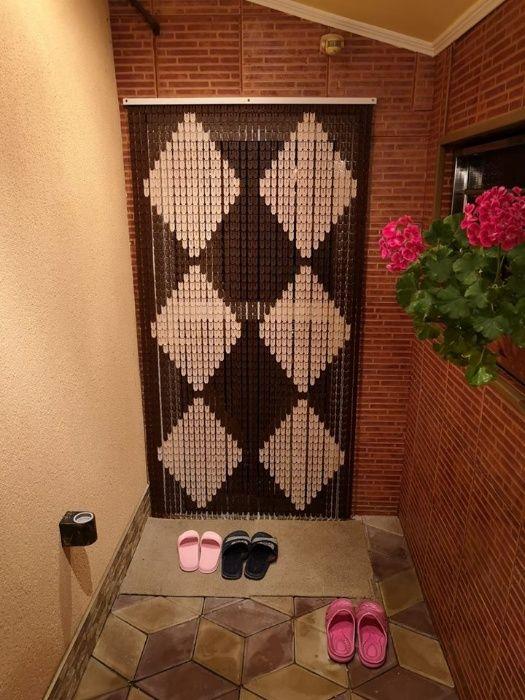 Perdea ornamentala pentru usa