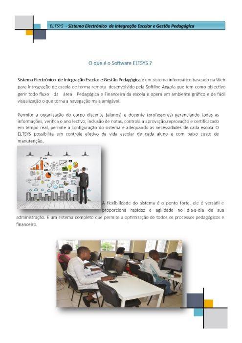 ELTSYS - Sistema Electrónico de Integração Escolar e Gestão Pedagógica