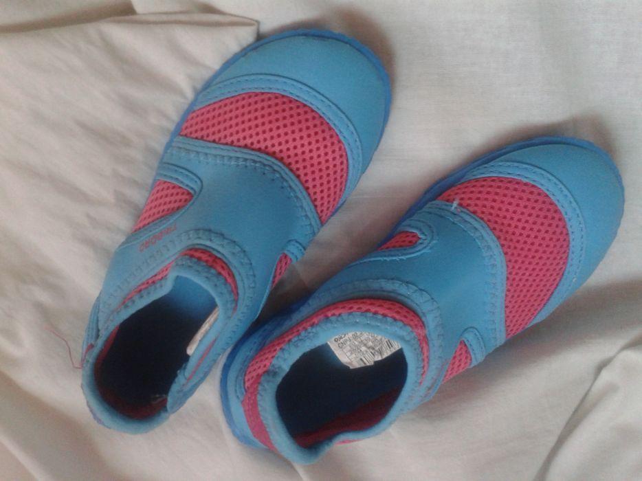 Papuci, espadrile plaja pentru pietre, masura 28-29, Decathlon