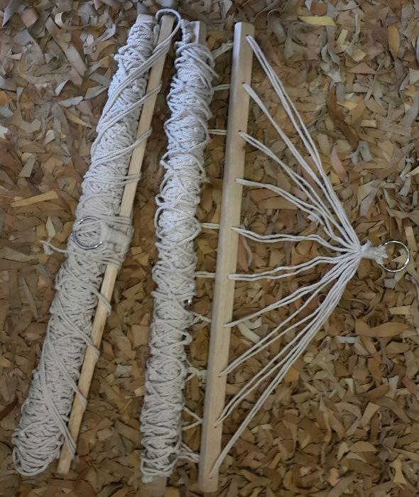 Хамак с дървени рейки
