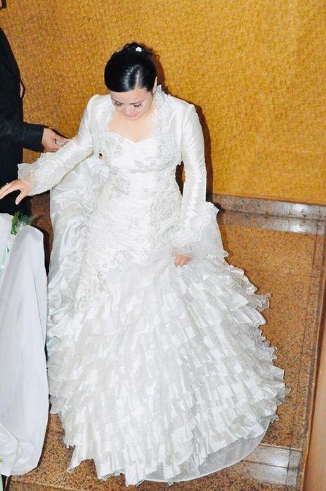 Срочно продается шикарное турецское свадебное платье