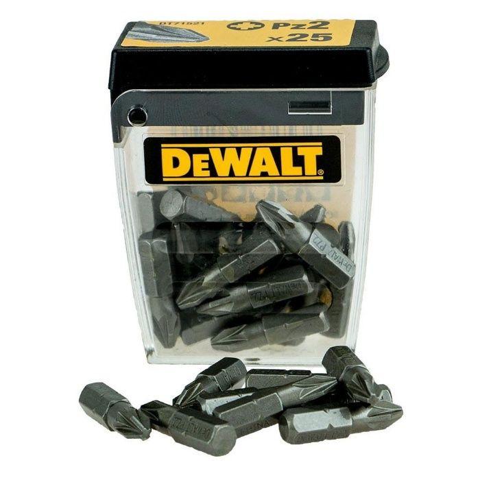 Накрайници / Битове за Винтоверт Pz2 - 25мм DeWALT DT71521 , 25 броя