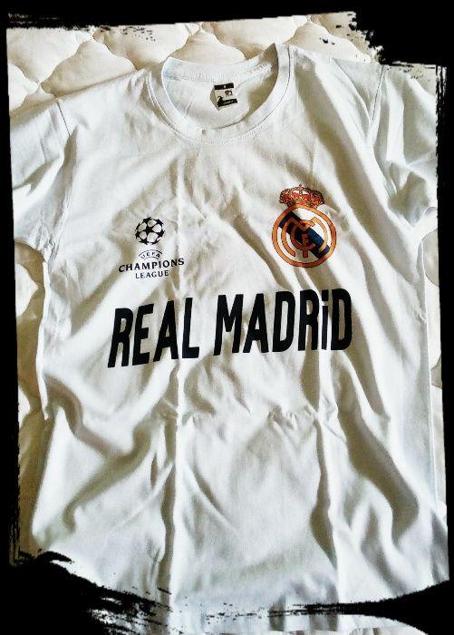 REAL MADRID! Нова Фен Тениска на Реал Мадрид с Ваше Име и Номер!