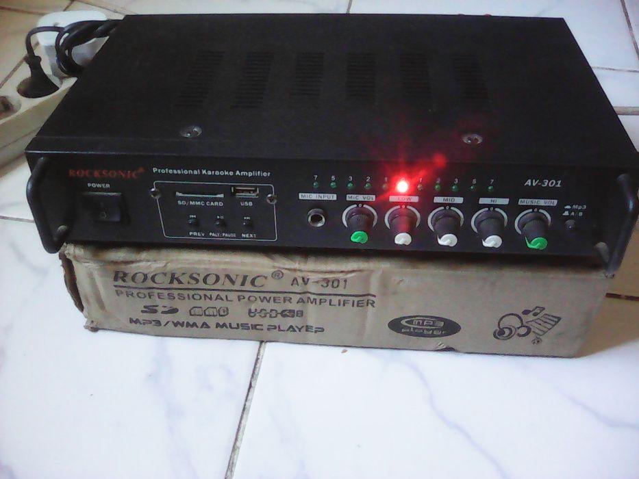 Rocksonic (Profissional Power Amplifier) AV-301