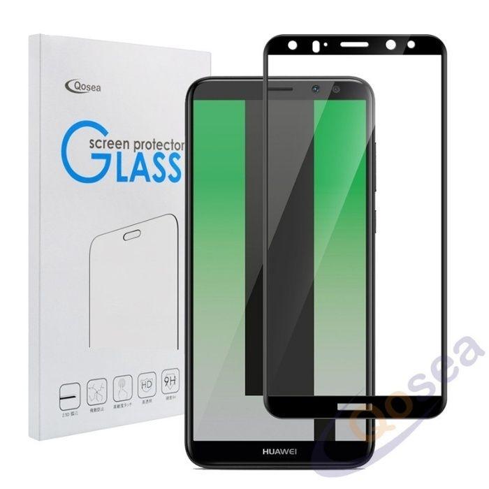 Folie Sticla Securizata 5D Curbata Neagra - Huawei Mate 10 Lite 10 Pro