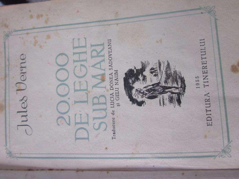 Jules Verne - 20,000 de leghe sub mari