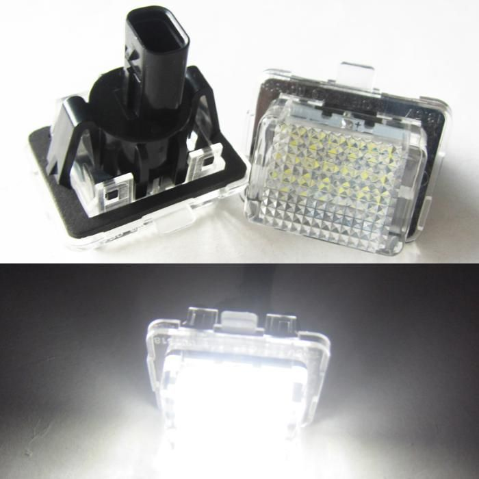 Set lampa LED numar MERCEDES BENZ W204, W204 Wagon W212, W221, C216, C