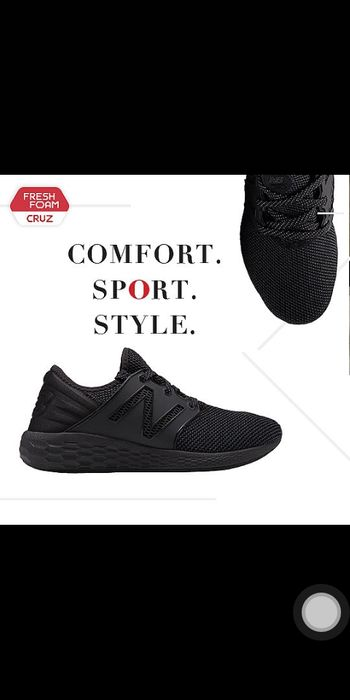 New balance full black