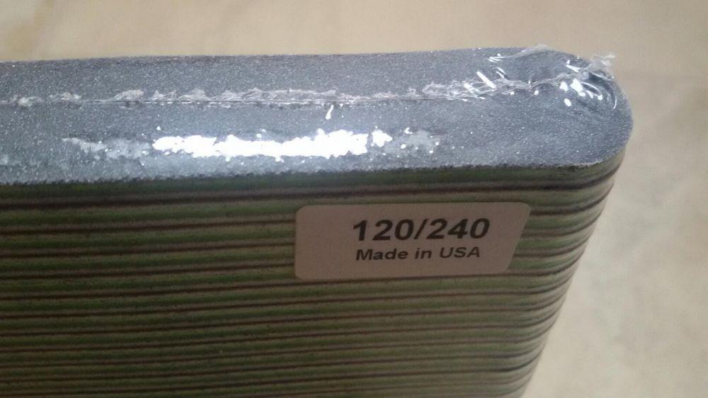 Pila profesionala pentru unghii manichiura pedichiura gel acril120/240