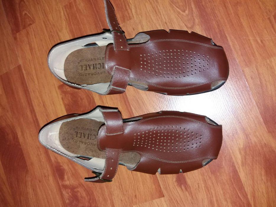 Sandale piele Lavorazione Artigianale Italia