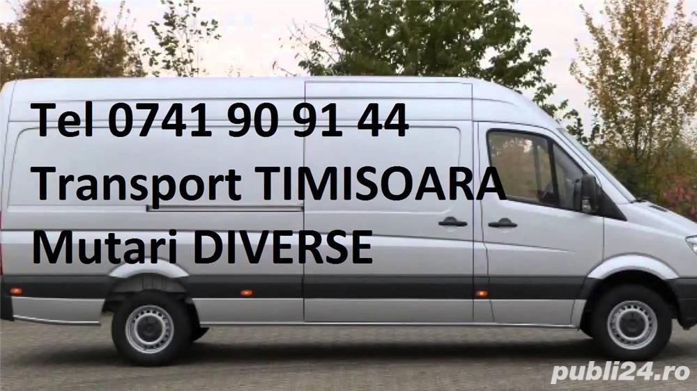 Transport marfa Timisoara -Mutari mobila ! Debarasari ! Ridic moloz !