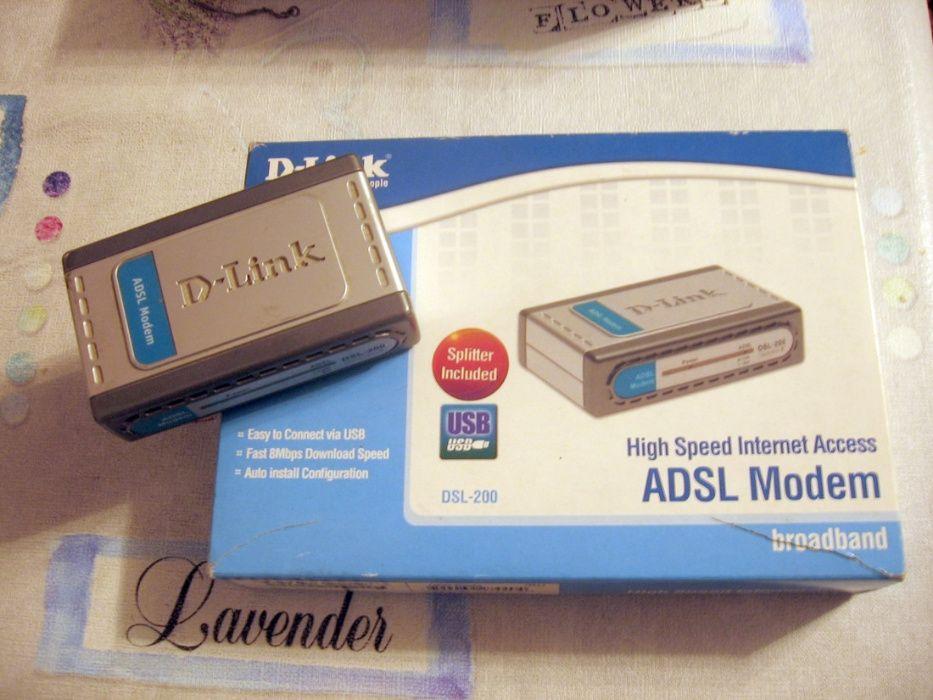 Продам ADSL модем D-link DSL 200 в рабочем состоянии