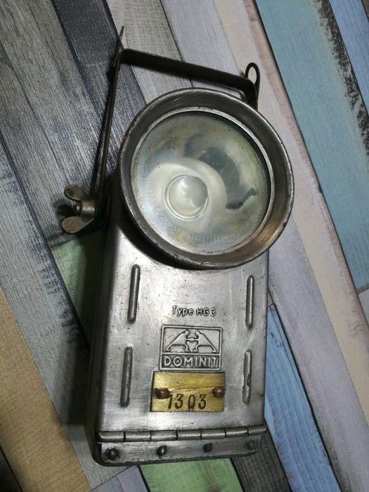 Lanterna veche Dominit HG 3