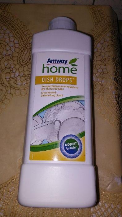 DISH DROPS Концентрированная жидкость для мытья посуды Amway home