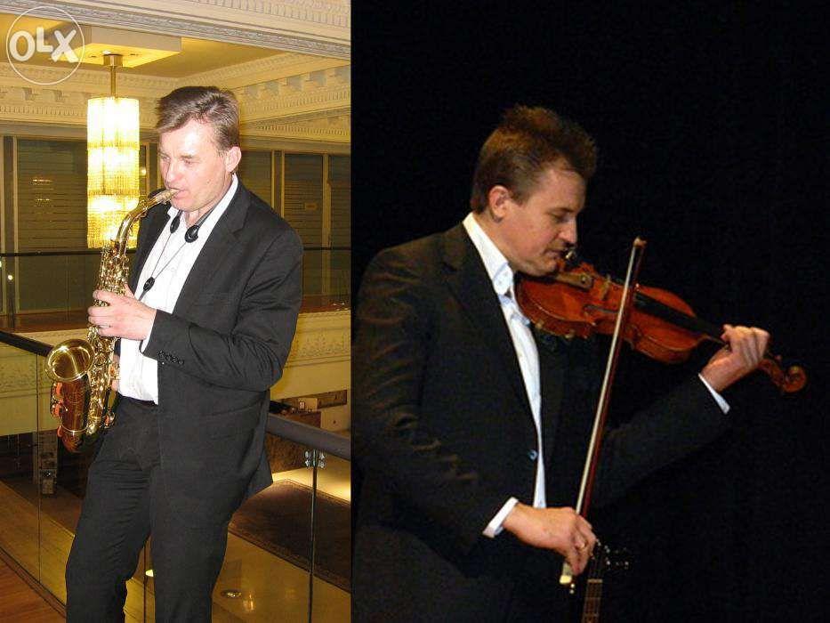 Скрипач и Саксофонист Сергей