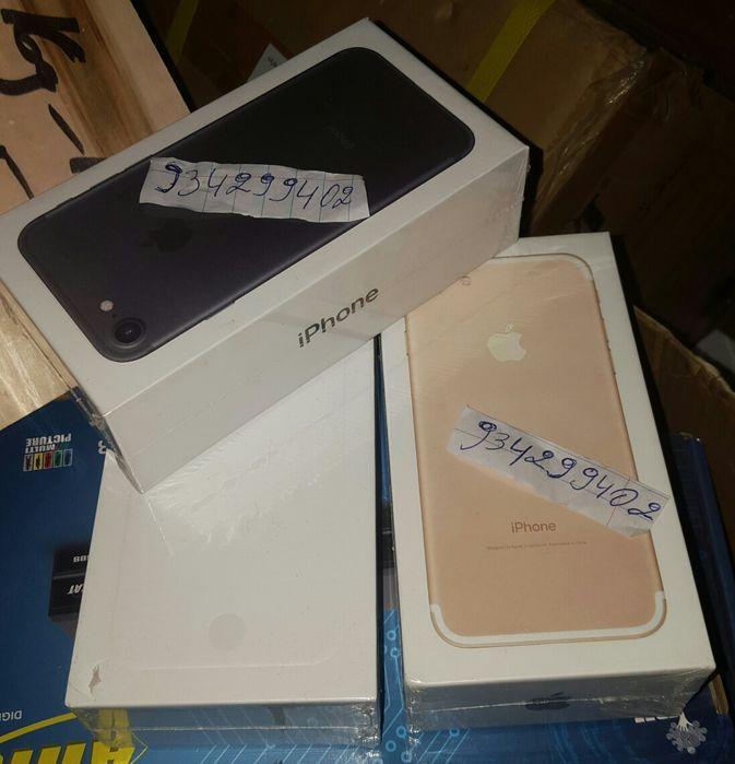 IPhone 5s 6 6s e IPhone 7novos na caixa Cada Telefone com seu preço
