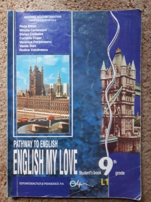 Vand Carte/ Manual de Engleza Nou!