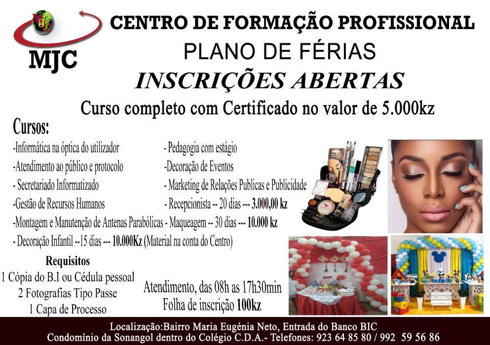 Promoção curso de maquiagem 10.000