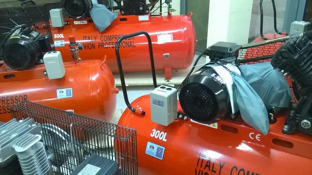 Компресор за въздух от 24, 50, 100, 200, 300 до 500 литра 185636