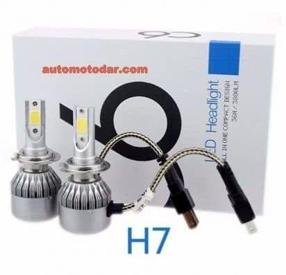 LED Диодни Крушки к-т- H7 H4