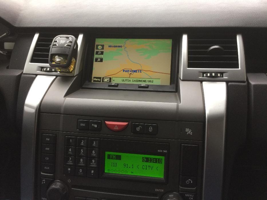 Диск за навигация 2017год.Range Rover Subaru Mazda Land Rover Kenwood