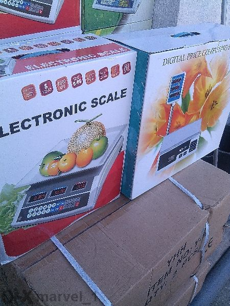 Ново! Електронен кантар за плодове и зеленчуци-40,100,150,300,600 и 10
