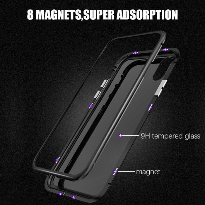 Husa,carcasa,bumper 360 Magnetic Protection Samsung S8,S8 plus, S9+