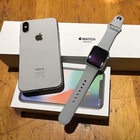 Iphone × novo na caixa vêm juntamente com o seu smarth fone