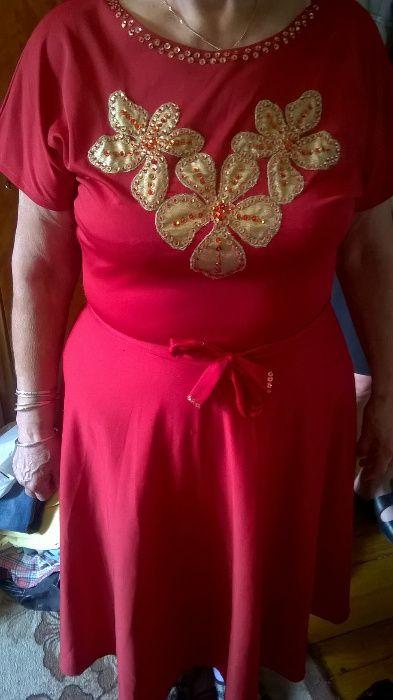 рокля коприна