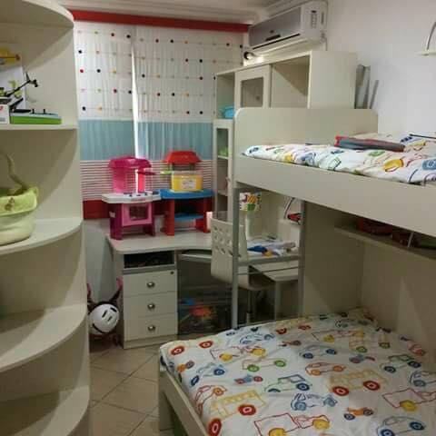 Mobilia para quarto com cama beliche