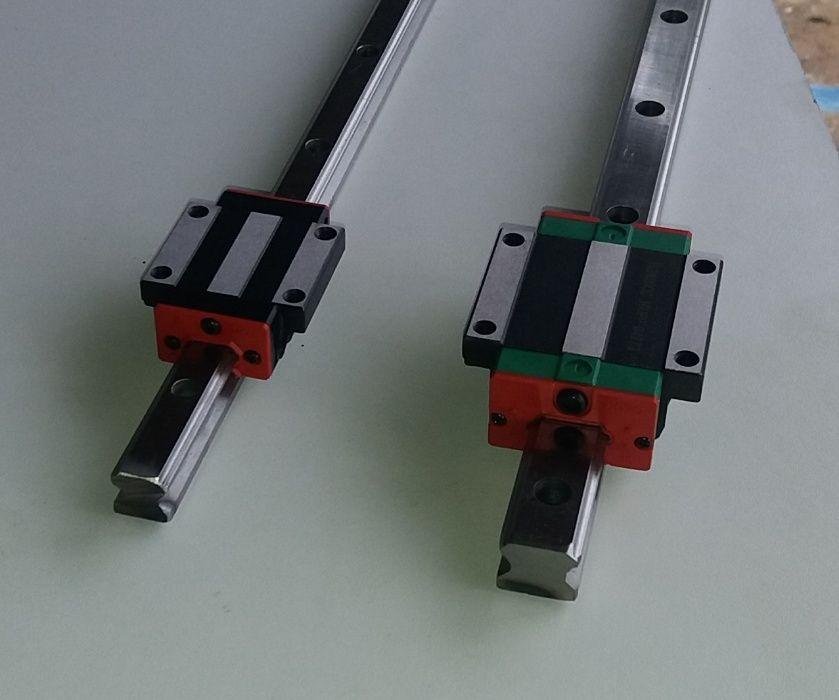 Ghidaje liniare HGR15, HGR20, SBR12,16,20,25. Patine, rulmenti liniari