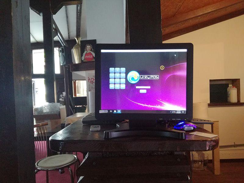 Soft gestiune+Touchscreen+PC restaurant bar pub food truck fast food