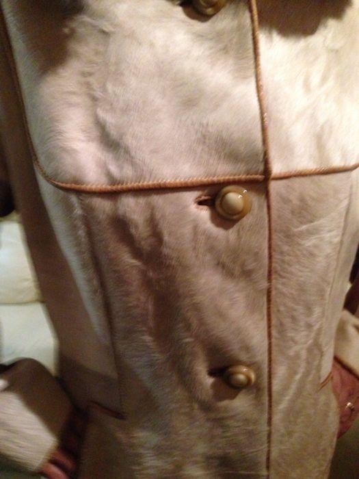 Дамско кожено манто Пони -естествена кожа и косъм М