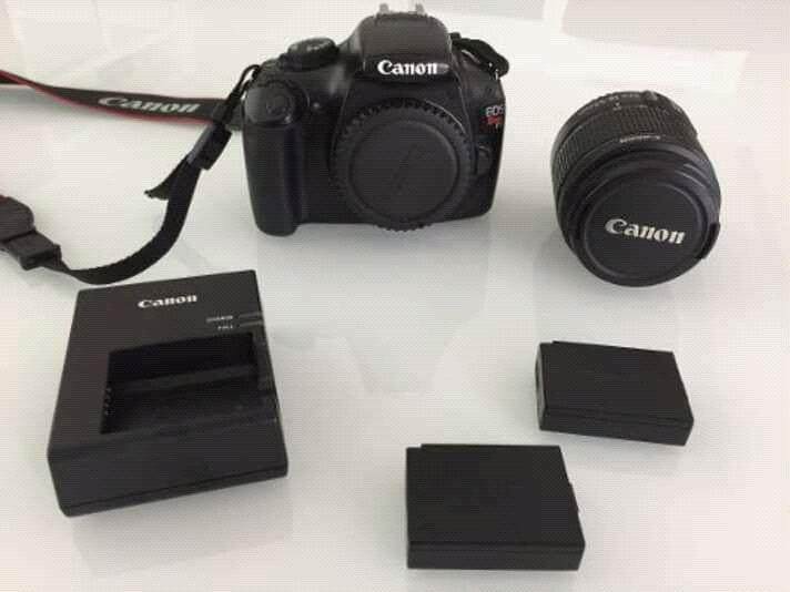 Camera canon 5D